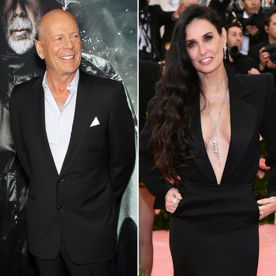 Bruce Willis Supports Ex Demi Moore at Her Memoir Launch