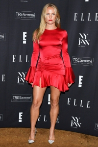 Sailor Brinkley Cook Red Dress Legs