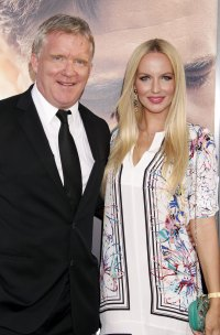 Celebrity enegagement Anthony Michael Hall and Lucia Oskerova