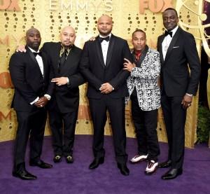 Central Park 5 Jharrel Jerome Standing Ovation Emmys Win