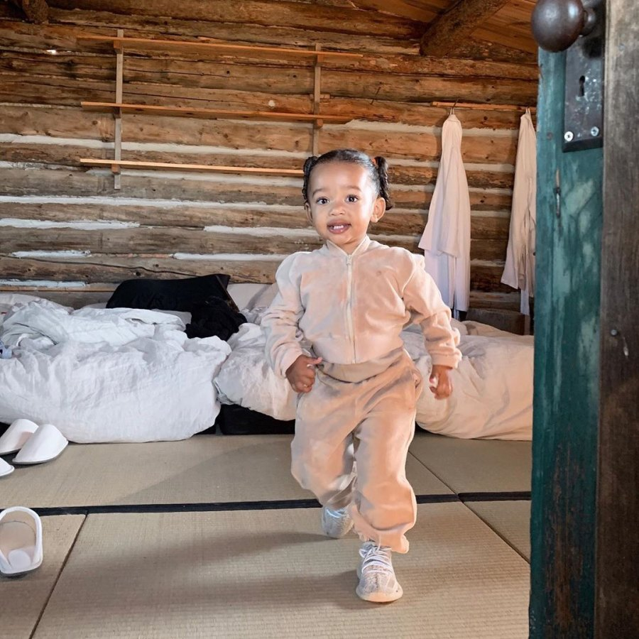Chicago West's Baby Album Pictures of Kim Kardashian and Kanye West's 2nd Daughter-September 2019 cabin