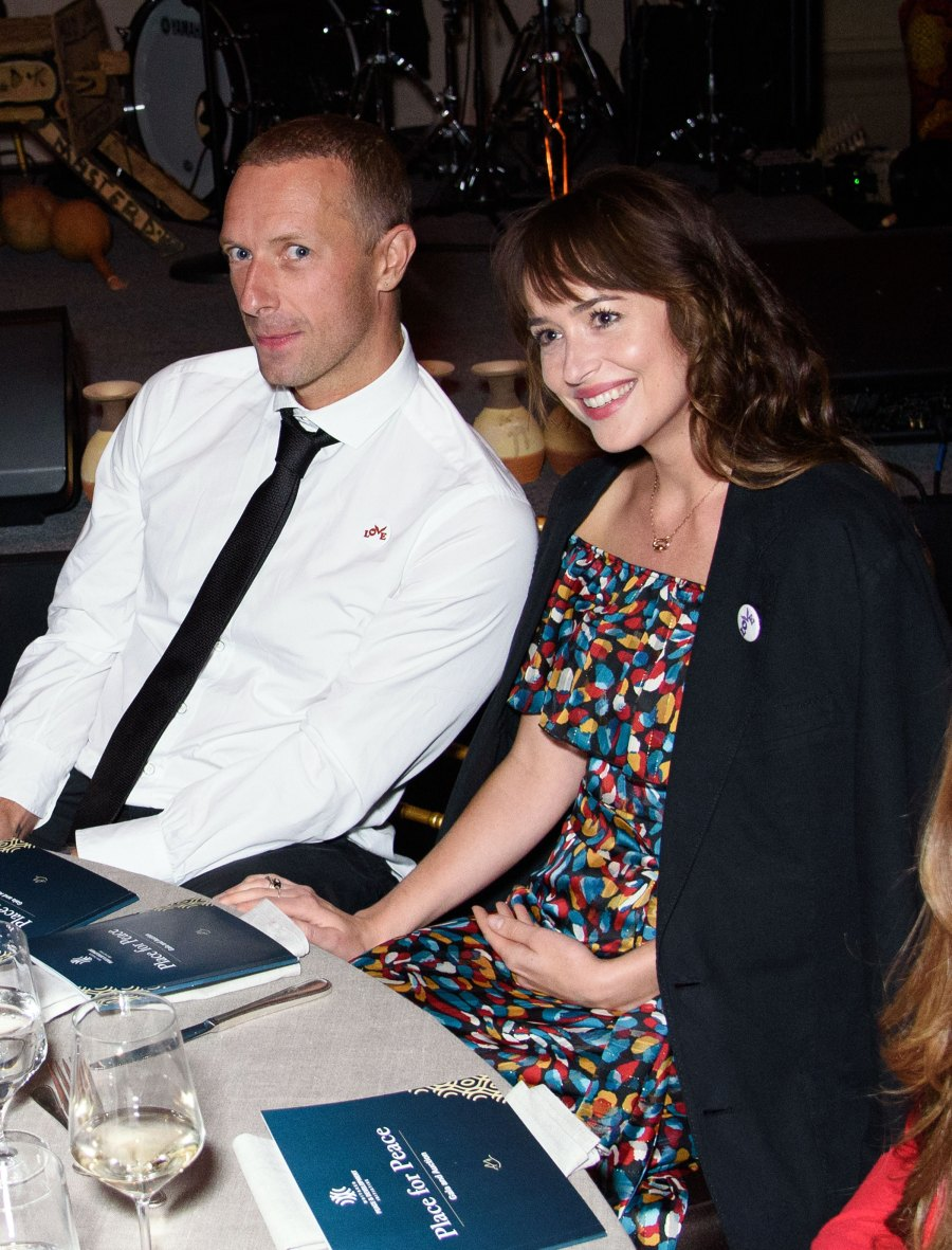 Chris Martin and Dakota Johnson Make Rare Joint Appearance at Event After Reconciliation