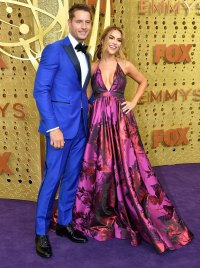 Chrishell Stause, Justin Hartley What You Didn't See on TV Gallery Emmys 2019
