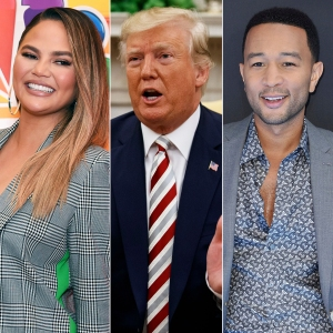 Chrissy Teigen 'Cackling' After Donald Trump Calls Her John Legend's 'Filthy Mouthed Wife'
