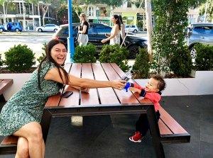 Chrissy Teigen Shares Photo Son Miles Date Shake Shack