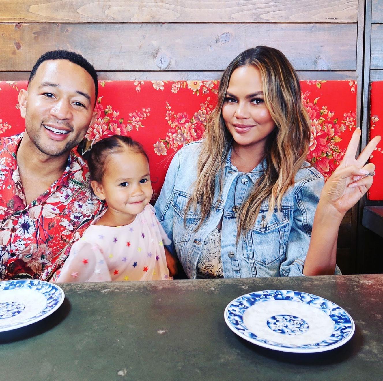 Chrissy Teigen and John Legend Daughter Luna Has Her 1st Crush