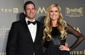 Christina Anstead and Ex Tarek Reunite Days After She Gives Birth