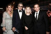 Christine Taylor Eugene Levy Deborah Divine and Ben Stiller Governors Ball Emmys 2019 After Party