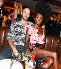 Terry Gates and Cipriana Quann Us Weekly Most Stylish Party