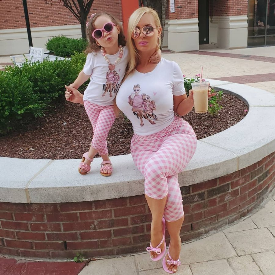 Coco Austin With 3-Year-Old Daughter Chanel