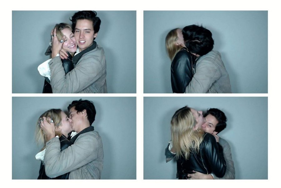 Cole Sprouse Posts Birthday Tribute to Lili Reinhart Photo Booth Instagram