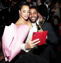 Dascha Polanco and Jharrel Jerome Governors Ball Emmys 2019 After Party