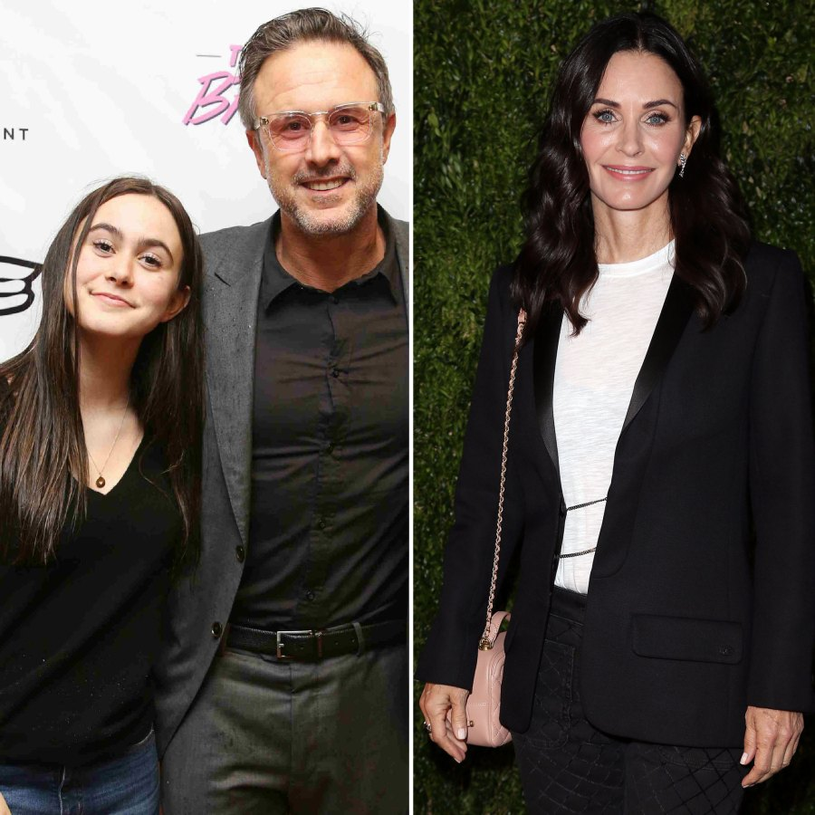 David Arquette and Courtney Cox's Daughter Coco Watches 'Friends,' Doesn't Like 'Scream'