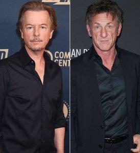 David Spade and Sean Penn