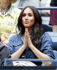 Duchess Meghan Beams While Cheering on Best Friend Serena Williams at US Open in New York City