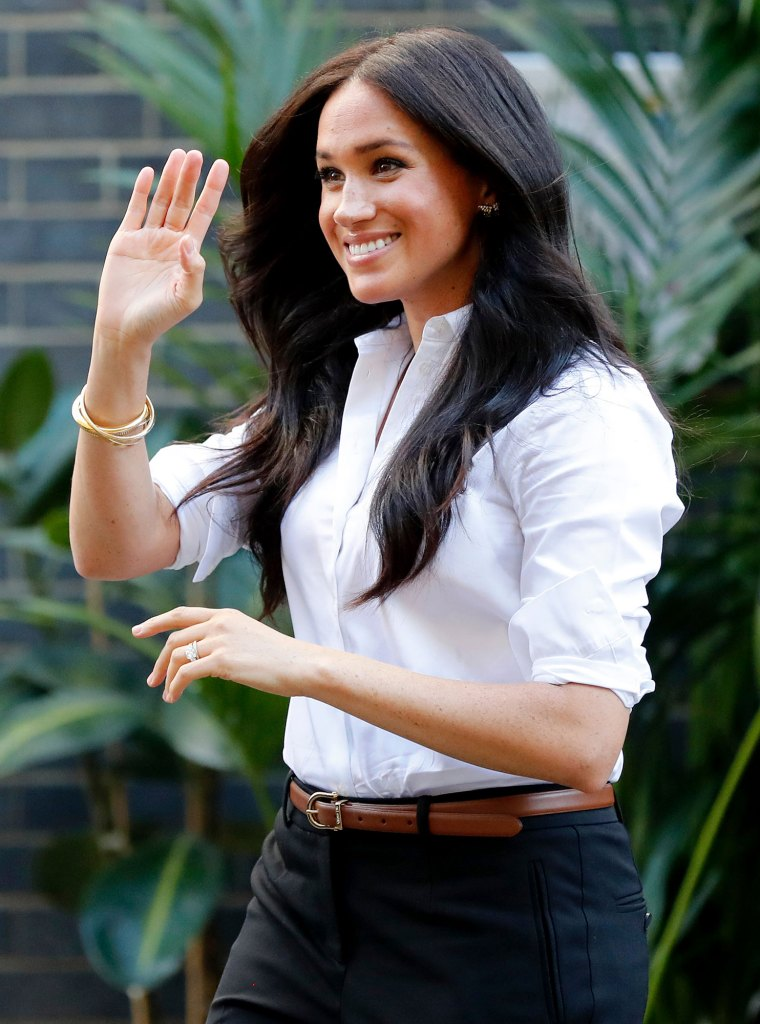 Duchess Meghan Had to Quickly Exit Royal Engagement For Archie Feeding Time Royal Wave
