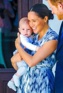 Duchess Meghan With Son Archie