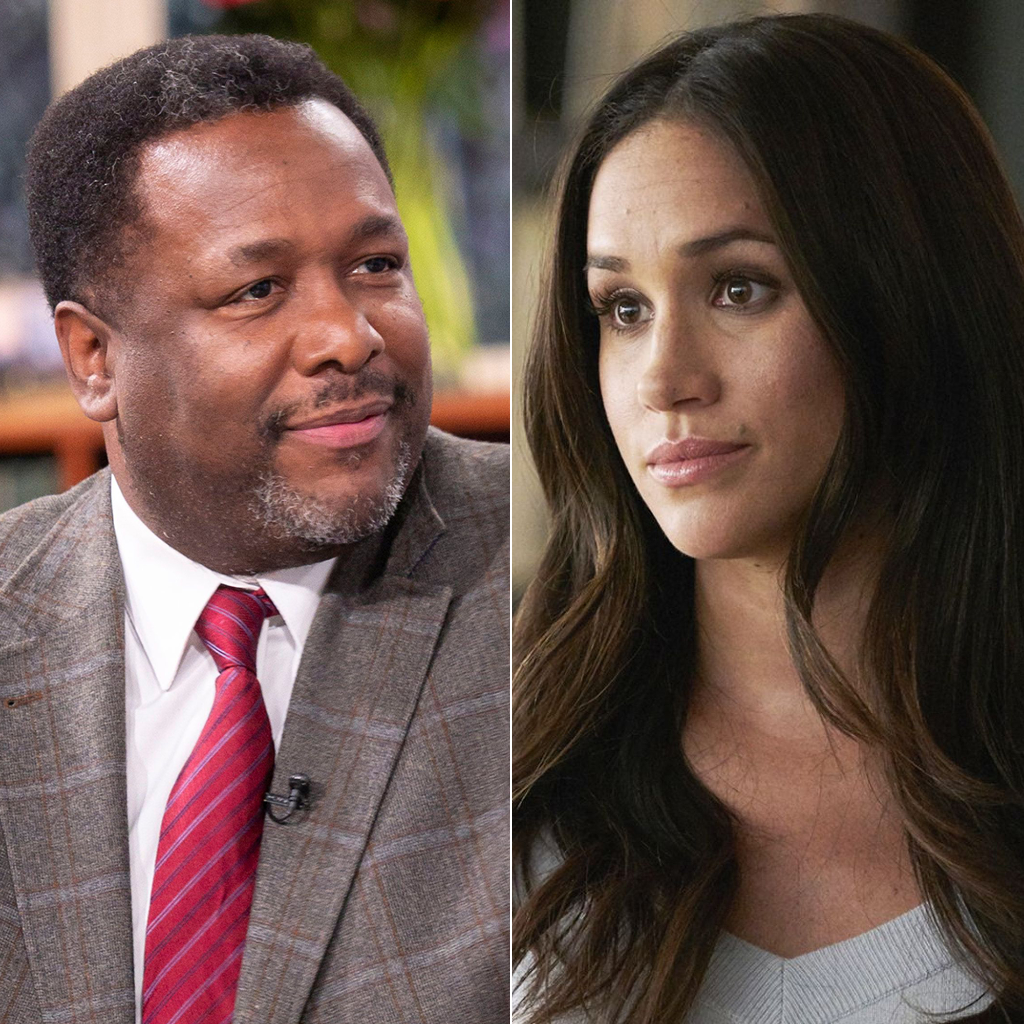 Wendell Pierce and Meghan Markle Suits