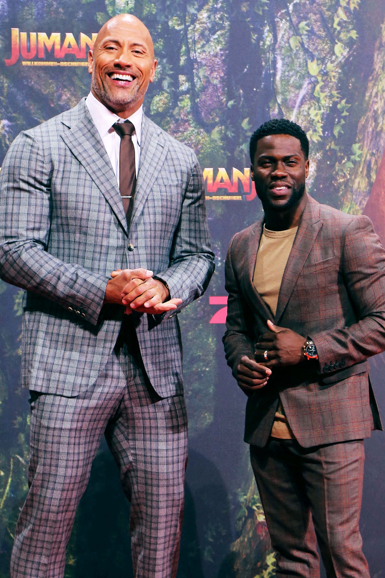 The Rock Jokes About Kevin Hart S Accident He Was In His
