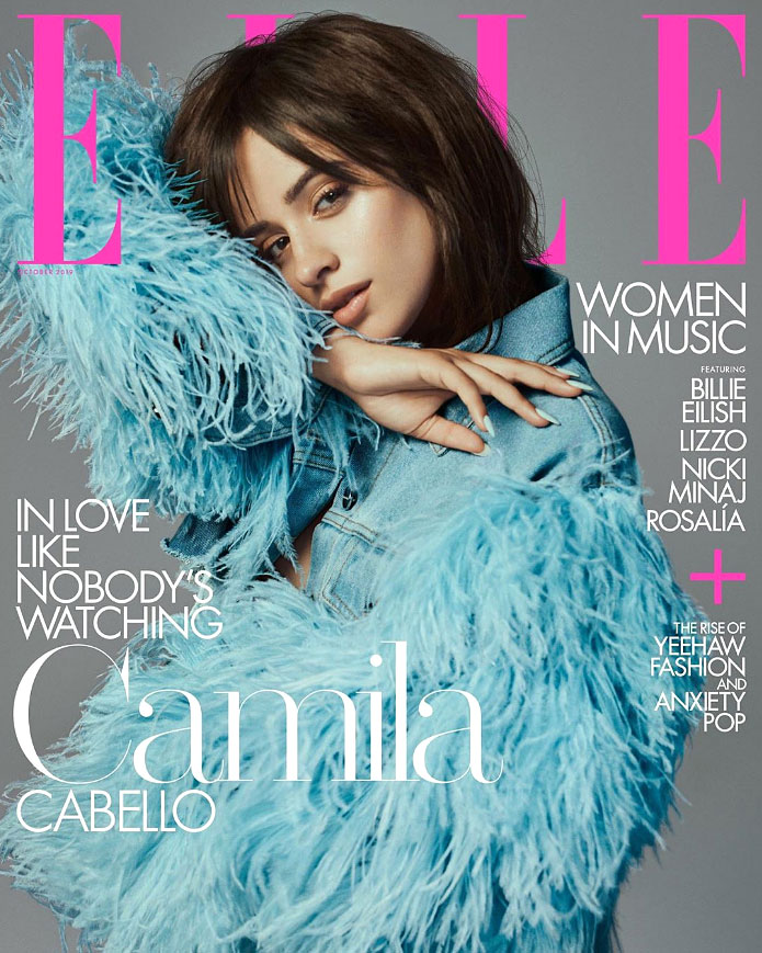 Camila Cabello Elle Cover October 2019