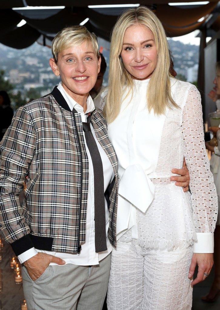 Ellen DeGeneres and Portia de Rossi Rescue Puppy