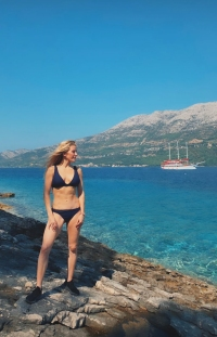 Ellie Goulding Honeymoon Bikini