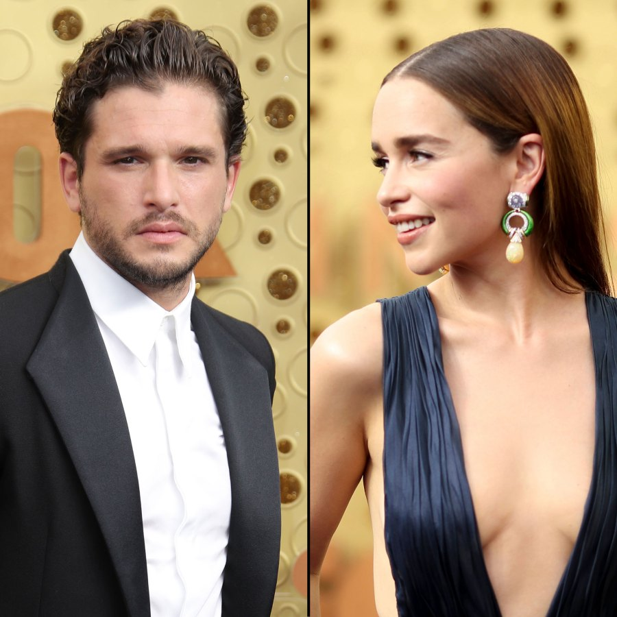 Emilia Clarke and Kit Harington What You Didn't See on TV Gallery Emmys 2019