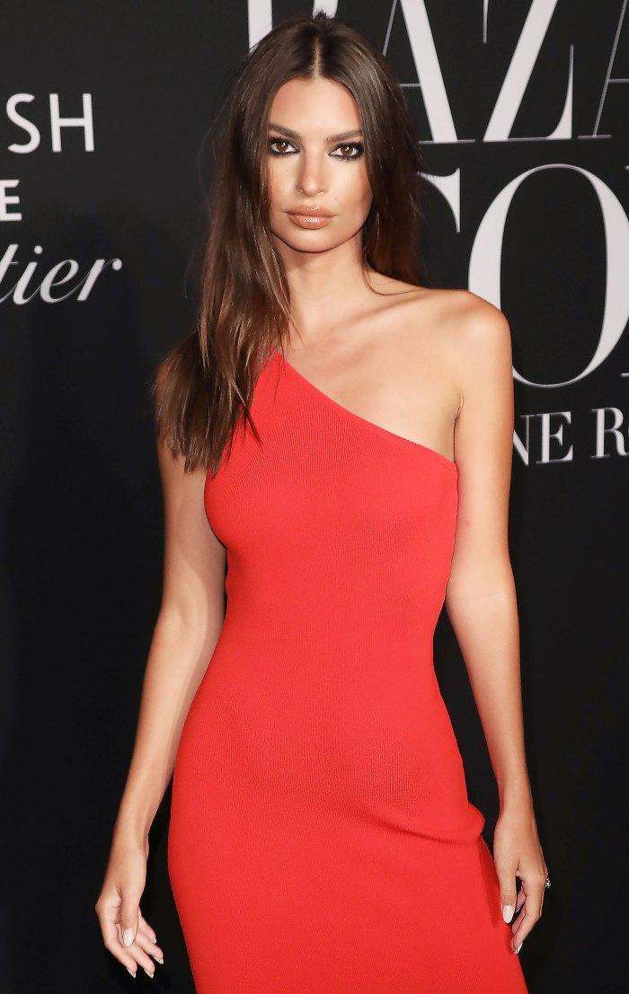 Emily Ratajkowski Zara Dress September 6, 2019