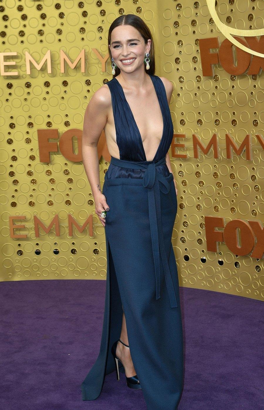 Emmys 2019 Nearly Naked - Emilia Clarke