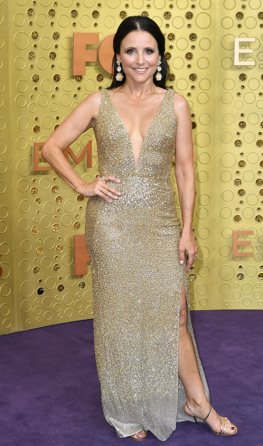 Emmys 2019 Nearly Naked - Julia Louis-Dreyfus