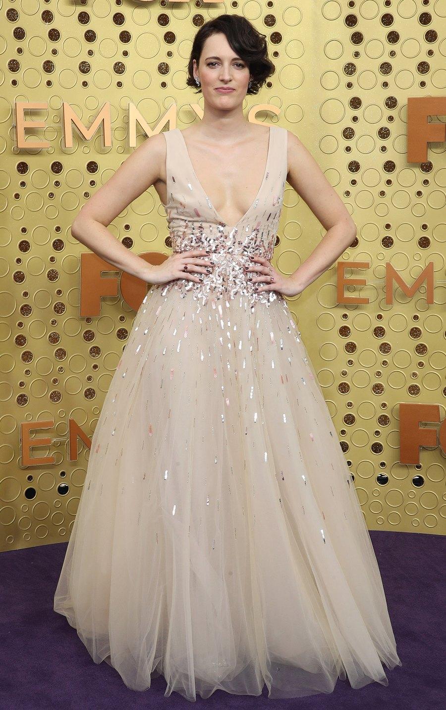 Emmys 2019 Nearly Naked - Phoebe Waller-Bridge