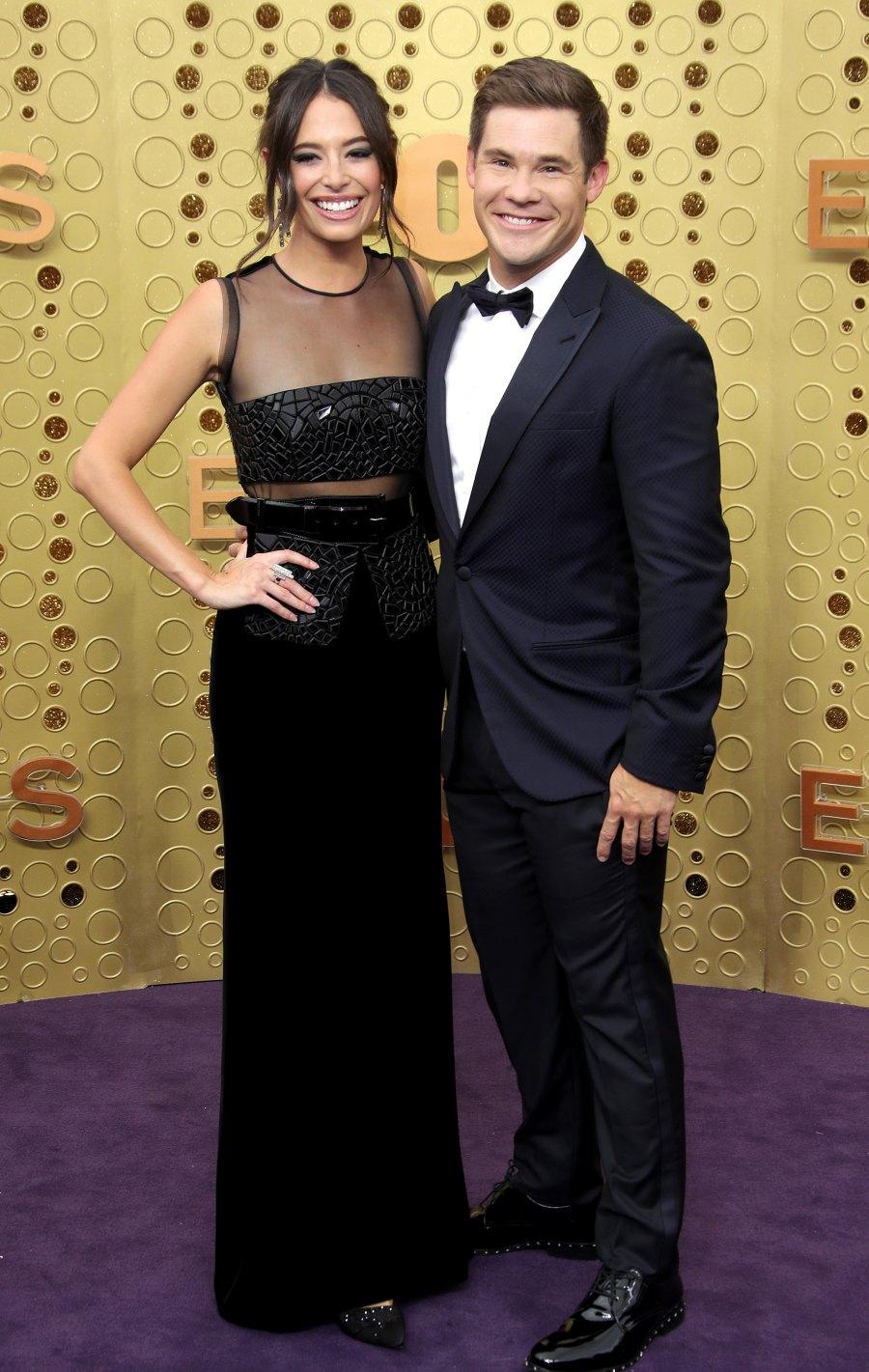 Emmys 2019 Stylish Couples - Chloe Bridges and Adam DeVine