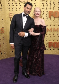 Emmys 2019 Stylish Couples - Patricia Clarkson and Darwin Shaw