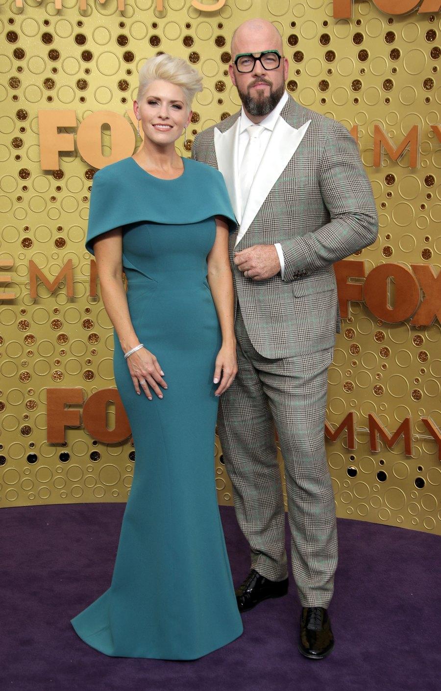 Emmys 2019 Stylish Couples - Chris Sullivan and Rachel Reichard