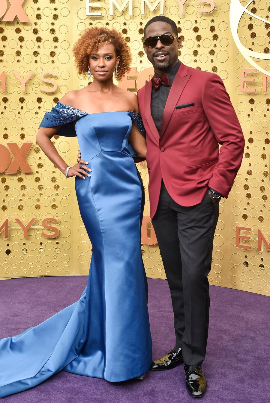 Emmys 2019 Stylish Couples - Sterling K. Brown and Ryan Michelle Bathe