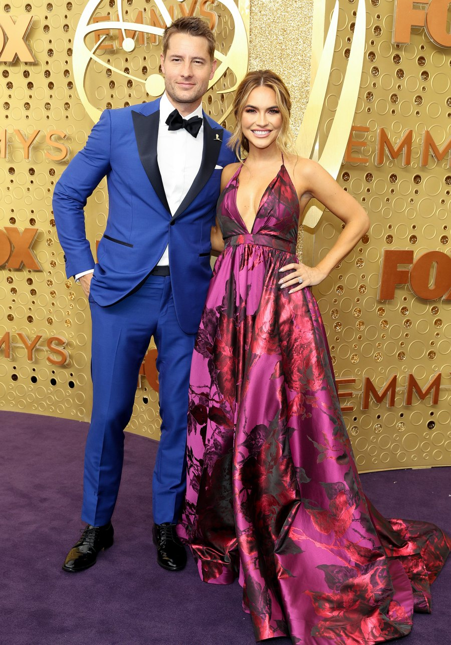 Emmys 2019 Stylish Couples - Justin Hartley and Chrishell Hartley