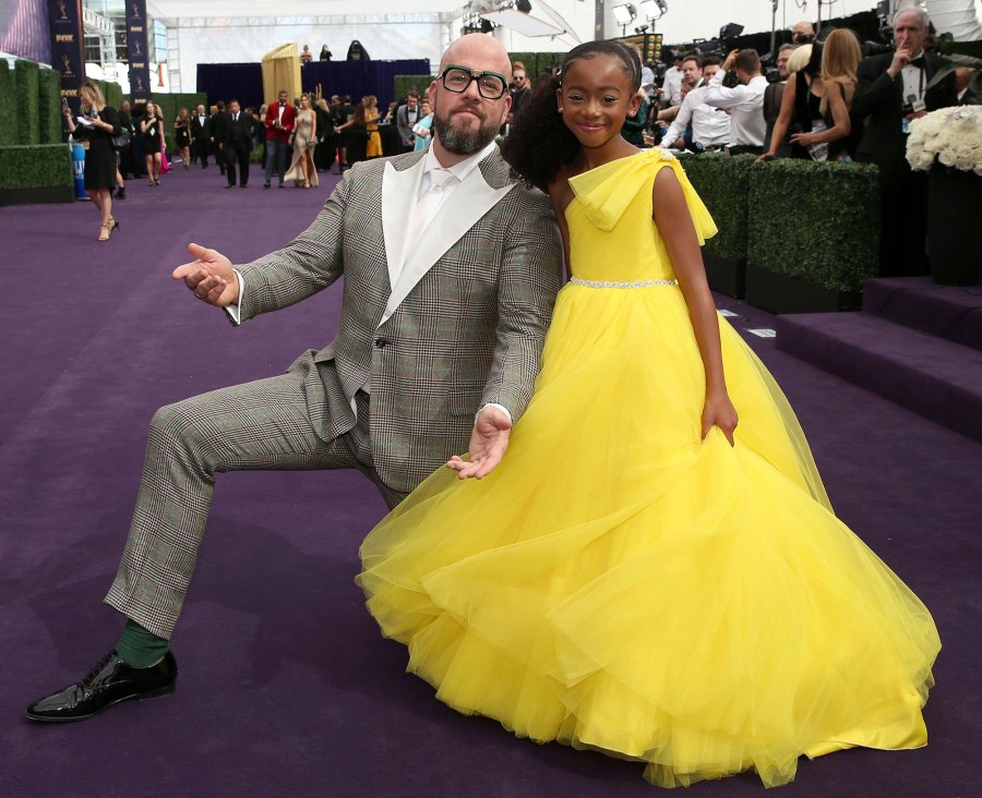 Faithe Herman and Chris Sullivan This Is Us Emmys 2019