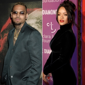 Fans Aren't Loving Chris Brown's Thirsty Comments on Rihanna's Instagram