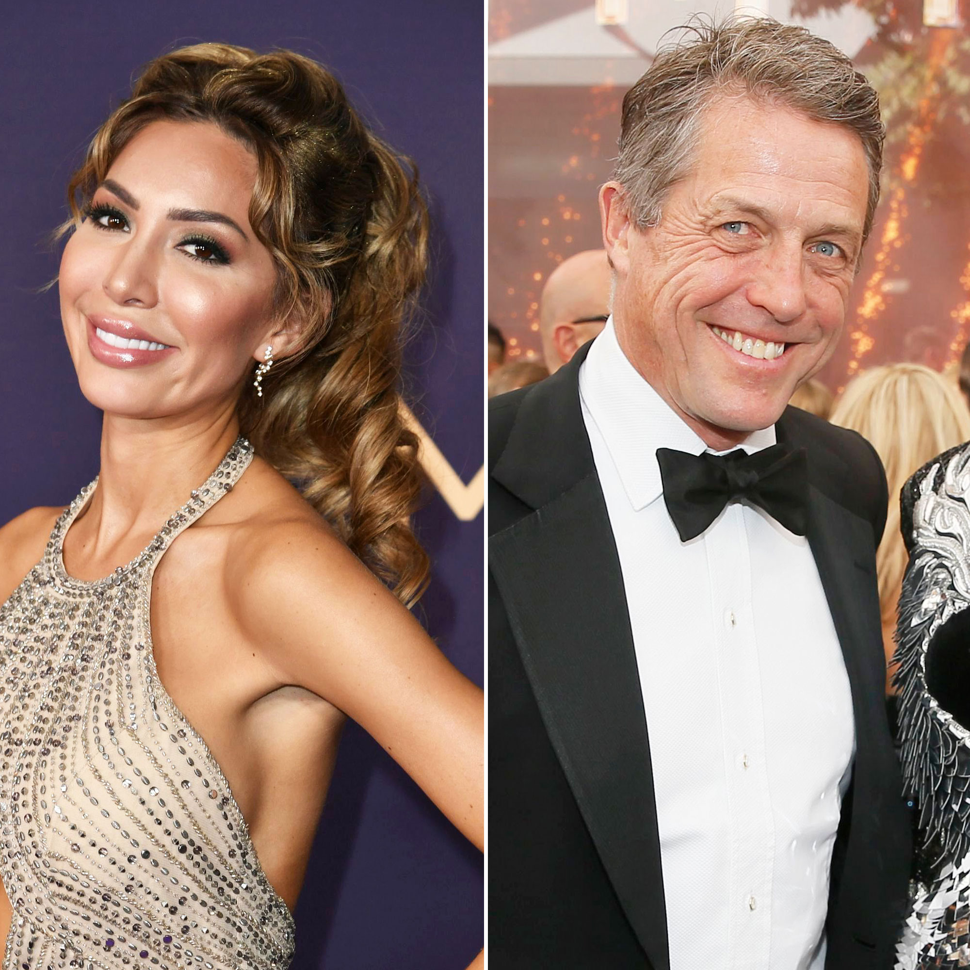 Farrah Abraham Sat Next to Hugh Grant at the 2019 Emmy Awards