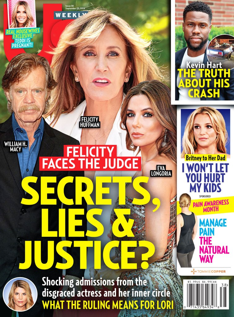 Felicity-Huffman-Seeking-Therapy-Kevin Hart Car Crash Amid-College-Admissions-Scandal-us-cover Kevin Hart Car Crash