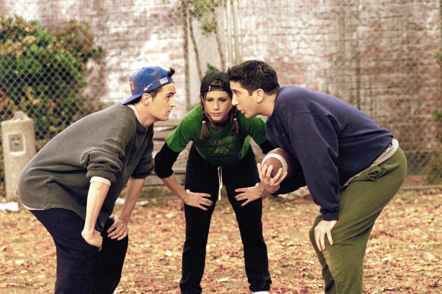 Friends Thanksgiving The One With The Football Season 3