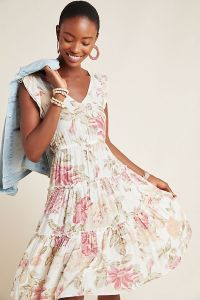 Frye x Anthropologie Luna Tiered Dress