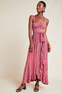 Gabriela Ruffled Maxi Dress