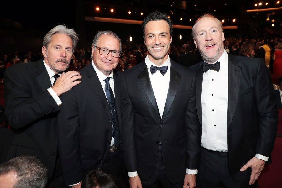 Gary Cole Kevin Dunn Reid Scott and Matt Walsh Inside Emmys 2019