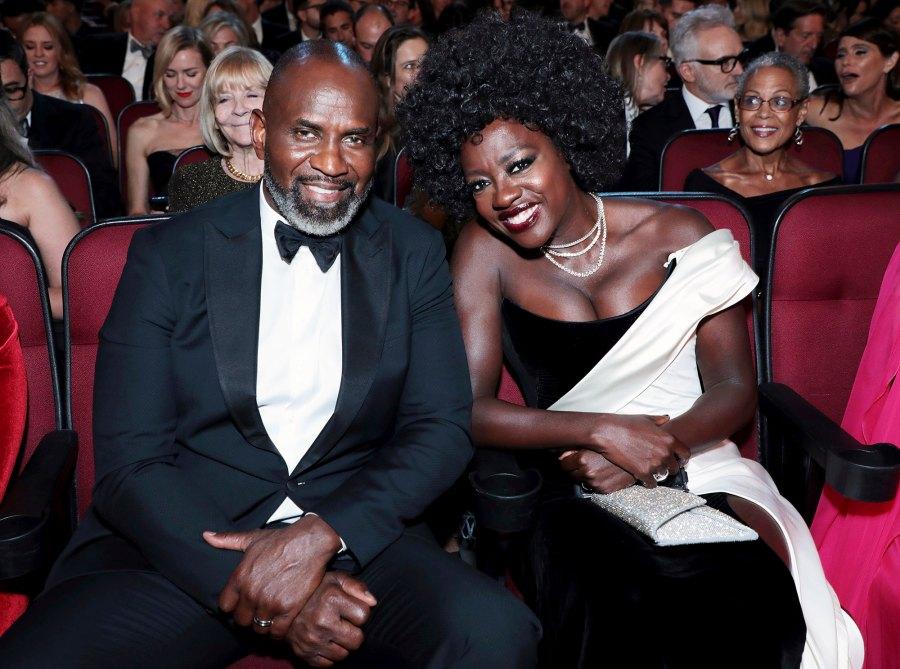 Julius Tennon and Viola Davis Inside Emmys 2019