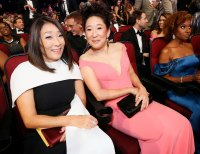 Grace Oh and Sandra Oh Inside Emmys 2019