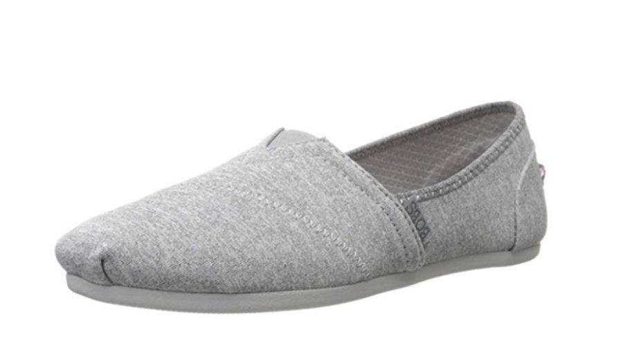 Grey-Slip-On-Flat