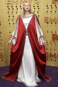 Gwendoline Christie Game of Thrones Slay Red Carpet Emmys 2019