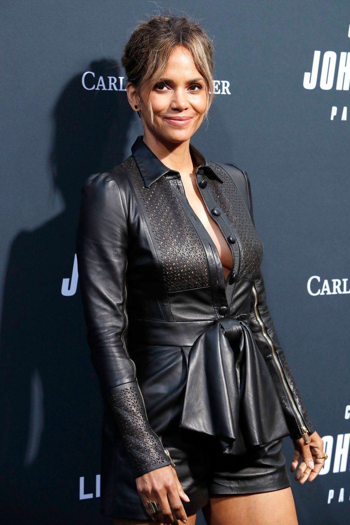 Halle Berry Reacts to Comment