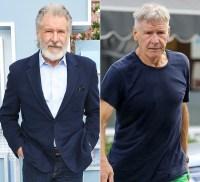 Harrison Ford Hair Change